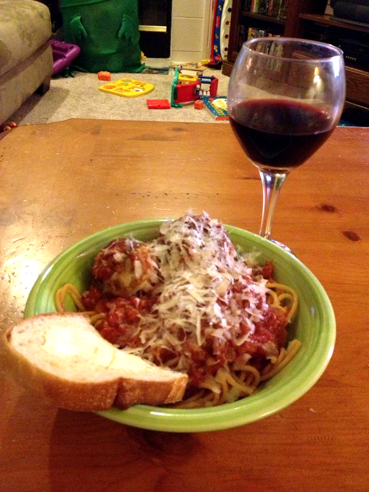 grannie geek best spaghetti and awesome meatballs