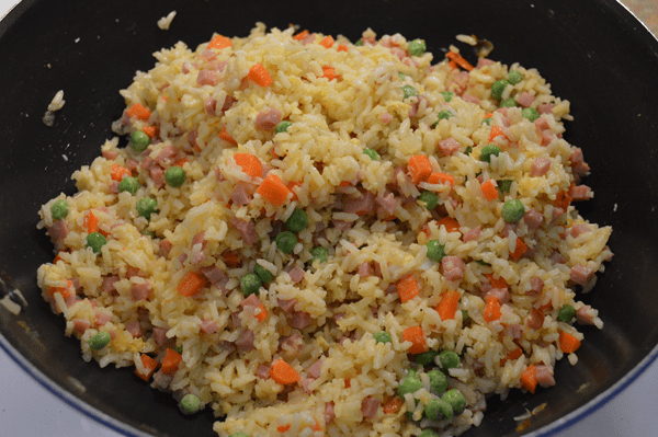 grannie geek, ham fried rice