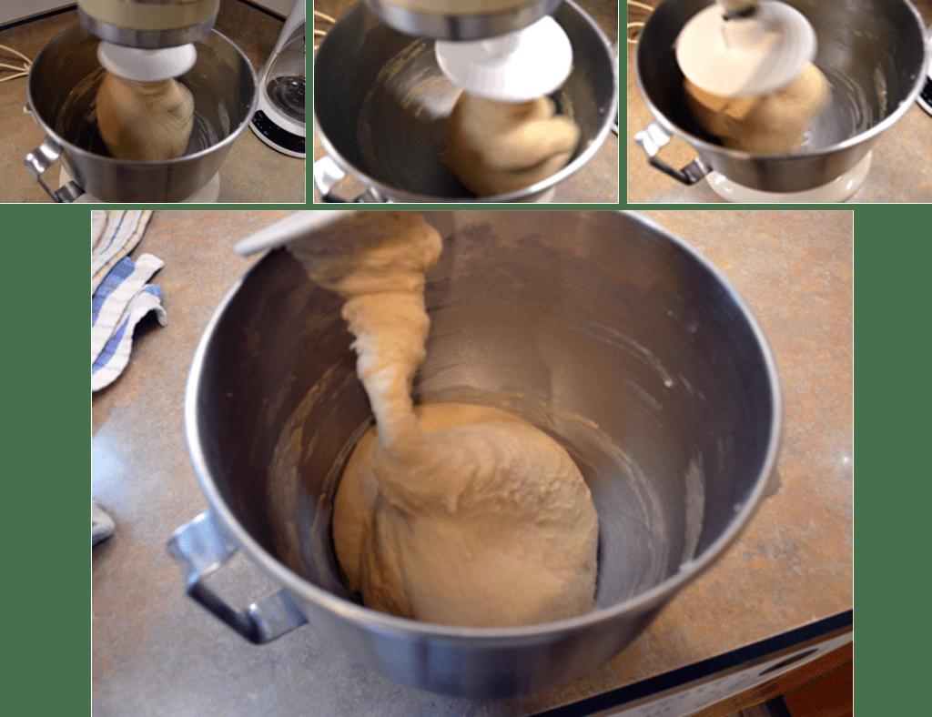 grannie geek, kneading the dough