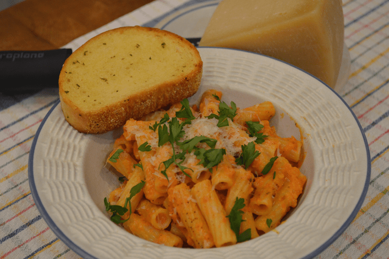 grannie geek: rigatoni alla vodka