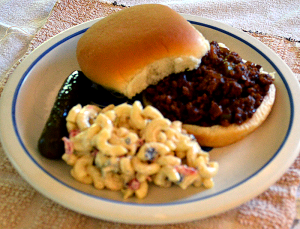 grannie geek, super sloppy joes