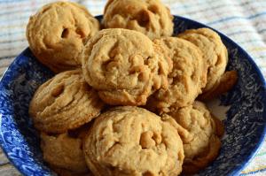 grannie geek, peanut butter chip cookies