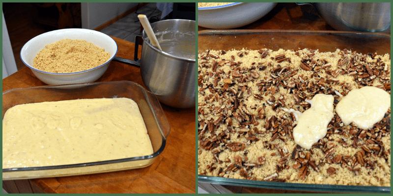 grannie geek, BPCCC making layers of cake