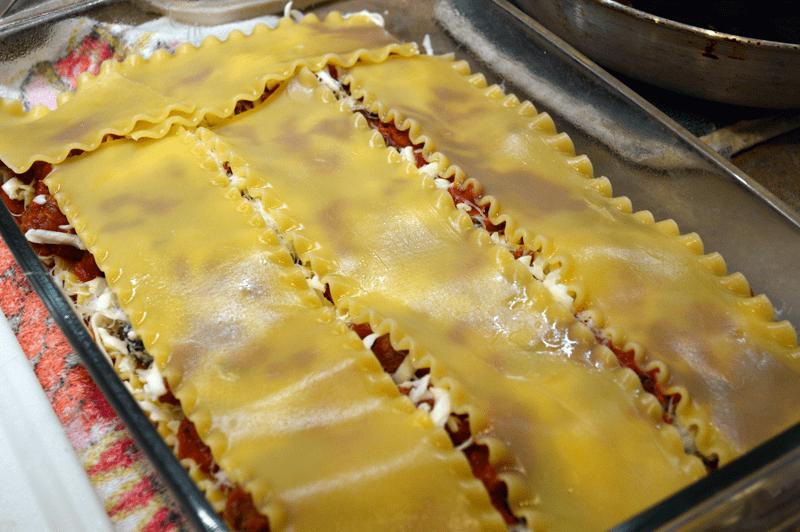 grannie geek, lasagna layer three