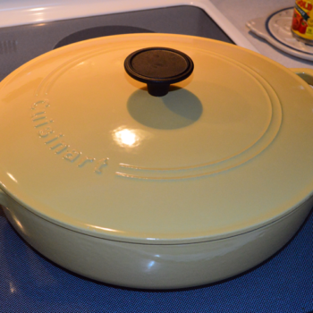 at mimi's table yellow cuisinart braiser