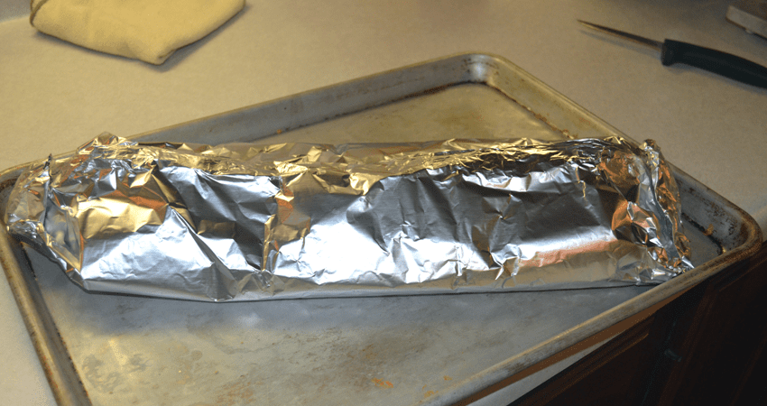 at mimi's table salmon filet wrapped in foil